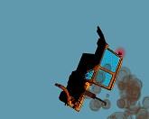 Взрыв трактора