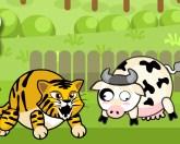 Тигр и коровы