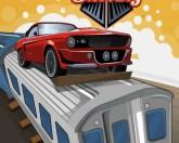 Гонки на крыше поезда