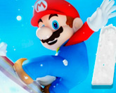 Марио сноуборд
