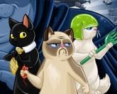 Коты спасают галактику