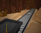 Побег из золотой шахты