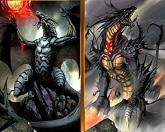 Найти отличия - Дракон