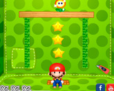 Марио режет веревки