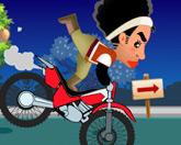 Мерид на мотоцикле