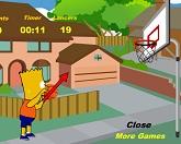 Барт Симпсон - баскетбол