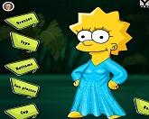 Школьный наряд для Лизы Симпсон