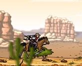 Выстрел из оружия ковбоя