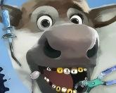 Олень у зубного