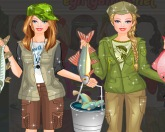 Барби рыбалка
