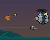 Эйприл и ракета-носитель