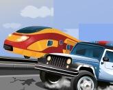 Полиция и поезд