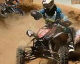 На квадроцикле в пустыне