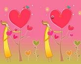 Найди отличия - Горячая любовь