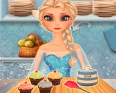 Эльза на кухне 2