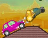 Разрушитель на дороге