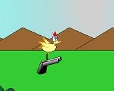 Курица - боец