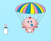 Карапуз и парашют