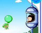 Котята на воздушных шариках
