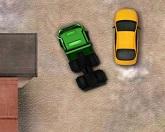 Парковка тяжелого грузовика