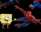 Соедини супер-героев