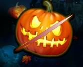 Разрежь тыкву на Хэллоуин