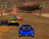 Суперкары в пустыне 3D