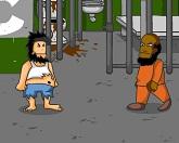 Бродяги - тюремная драка