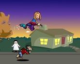 Ведьма побеждает зомби