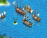 Морской бой - начало