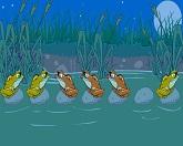 Лягушки на болоте
