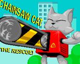 Кот с бензопилой