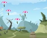 Сбей парашютистов