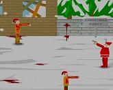 Нападение зомби на Санту