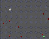 Охота на цветные шарики
