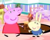 Свинья обставляет комнату