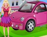 Барби на автомойке