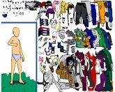 Одеть и выразить характер Наруто