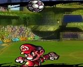 Супер Марио чеканить мяч