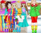 Зимний шоппинг Барби