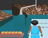 Бросать баскетбольный мяч в корзину