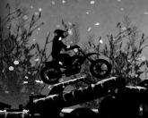 Темные снежные гонки