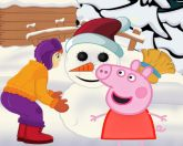 Свинка Пеппа зимой