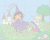 Расставь плитки: королева Дора