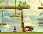 Марио приключение в джунглях