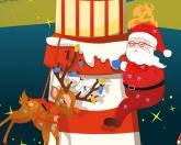 Санта и маяк