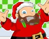 Побрей Деда Мороза