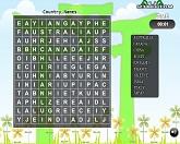 Поиск слов: название стран