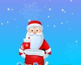Санта ловит подарки