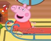 Свинка Пепа и санки